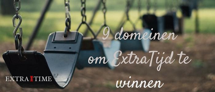 9 domeinen om extra tijd te winnen
