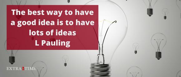 Hoe ideeën hebben weer leuk wordt