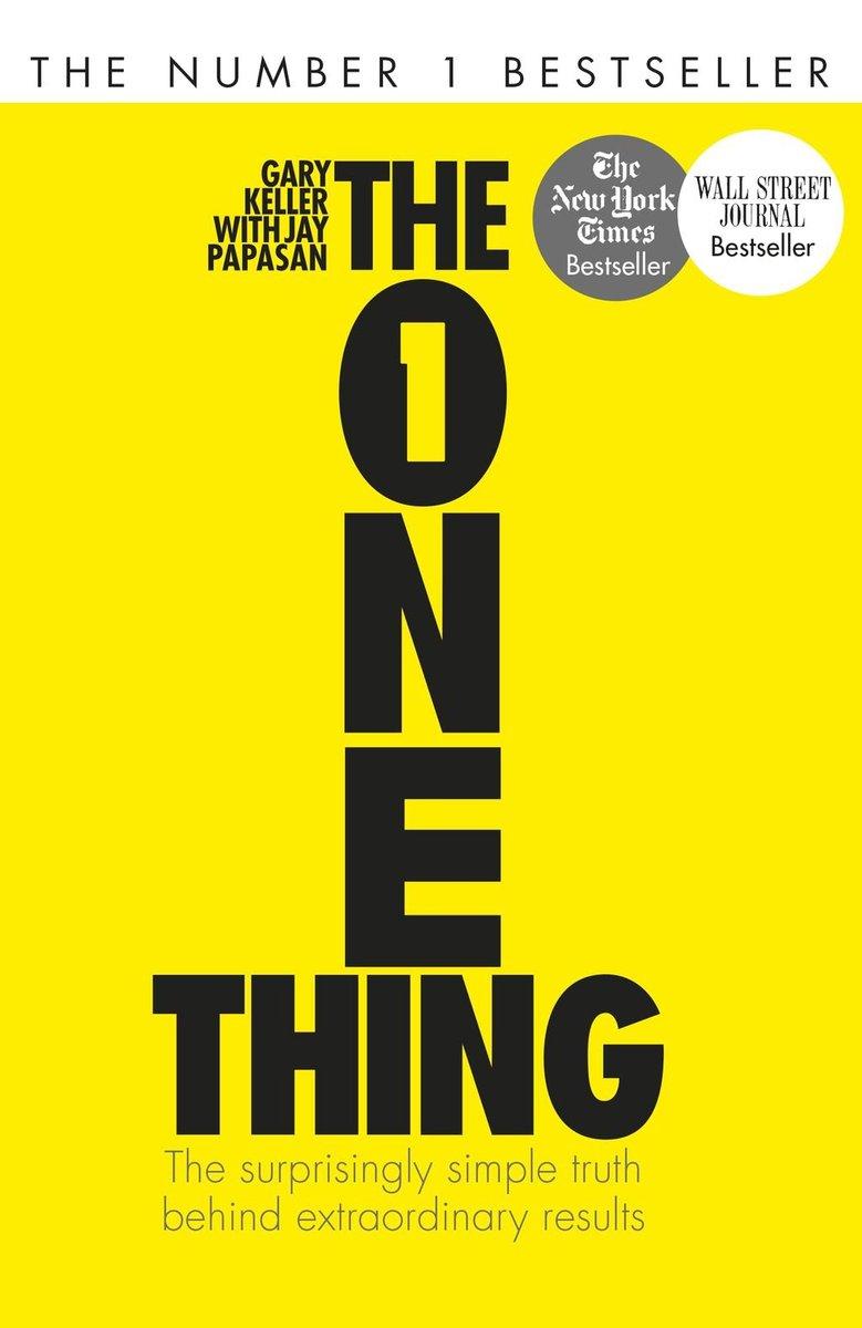 The One Thing het verhaal van 2 konijnen