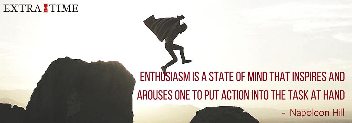 Het gevaarlijke kantje van enthousiasme