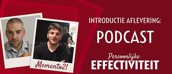 Memento21 – introductie aflevering van de nieuwe podcast