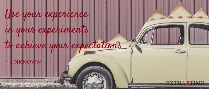 10 experimenten die je kan opzetten om productiever en effectiever te worden