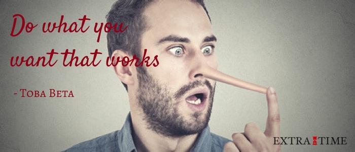 Negen grote leugens met een desastreuse impact op je effectiviteit