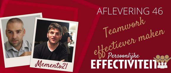 046 – teamwork effectiever maken