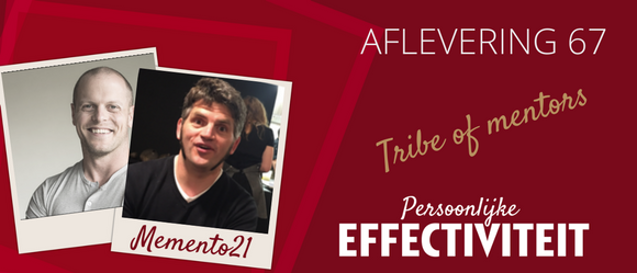 067 – Johan in de Tribe of Mentors
