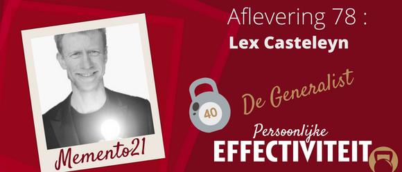 Afl 78 – Lex De Generalist