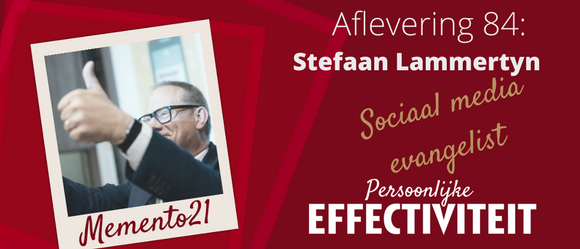 Afl 084 – interview Stefaan Lammertyn sociaal media evangelist