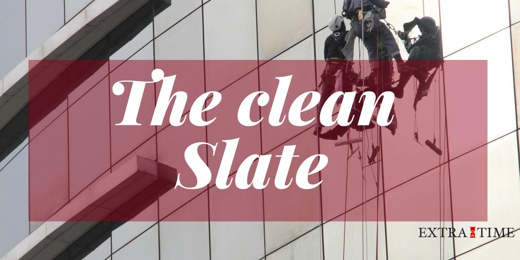 Waar kan je een reset of een clean slate gebruiken?