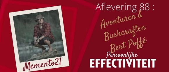 Afl 088 – Avonturen & Bushcraften – interview met Bert Poffé