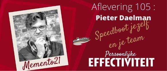 Afl 105 Pieter Daelman Speedboot jezelf en je team