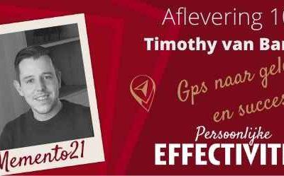 Afl 106 Tim van bambost Jouw GPS naar geluk en succes