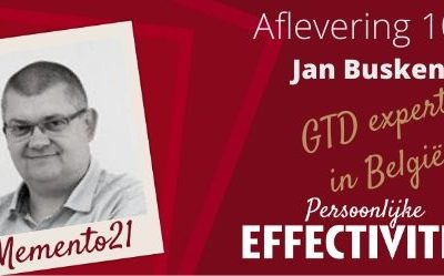 Afl 108 Interview Jan Buskens  Doorwinterde GTD expert in België