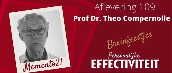 Afl 109 Ontketen je brein – interview met Theo Compernolle