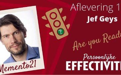 Afl 113  Are you  Ready !?  Interview met  Jef Geys bezieler van Primefit