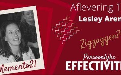 Afl 114. ZigZaggen Say again?  Interview met Lesley Arens