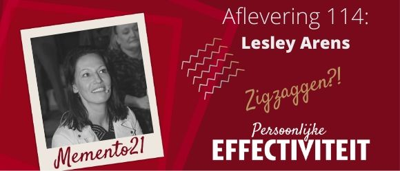 Afl 114. ZigZaggen Say again?  Interview met Lesley Arens