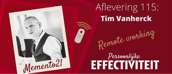 Afl 115 Remote working Interview met Tim Vanherck